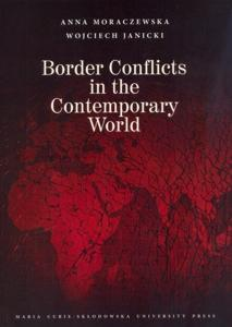 Okładka: Border Conflicts in the Contemporary World